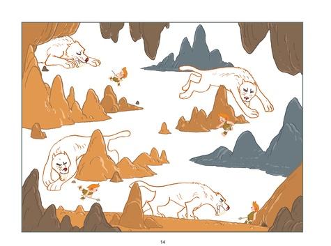 Myrmidon Tome 5 Myrmidon et la grotte mystérieuse
