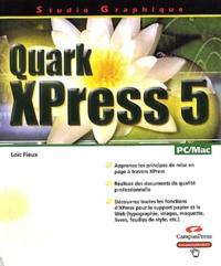 Quark XPress 5 - Loïc Fieux |
