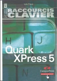 QuarkXPress 5 - Loïc Fieux | Showmesound.org