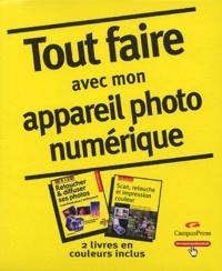 Loïc Fieux et Elise Maillard - Tout faire avec mon appareil photo numérique Coffret en 2 volumes : Tome 1, Scan, retouche et impression couleur ; Tome 2, Retoucher & diffuser ses photos.