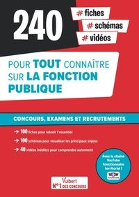 Loïc Goffe et Pierre-Brice Lebrun - 240 fiches, schémas, vidéos pour tout connaître sur la fonction publique.