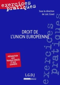 Loïc Grard - Droit de l'union européenne.