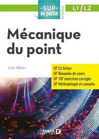 Loïc Villain - Mécanique du point.