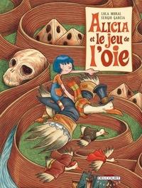 Lola Moral et Sergio Garcia - Alicia et le jeu de l'oie.