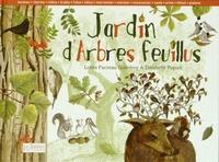 Lolita Pacreau-Godefroy et Elisabeth Piquet - Jardin d'arbres feuillus.