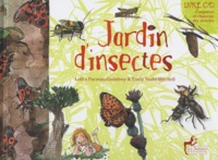 Lolita Pacreau-Godefroy et Emily Nudd-Mitchell - Jardin d'insectes. 1 CD audio