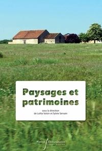 Téléchargez des livres d'électronique gratuitement Paysages et patrimoines