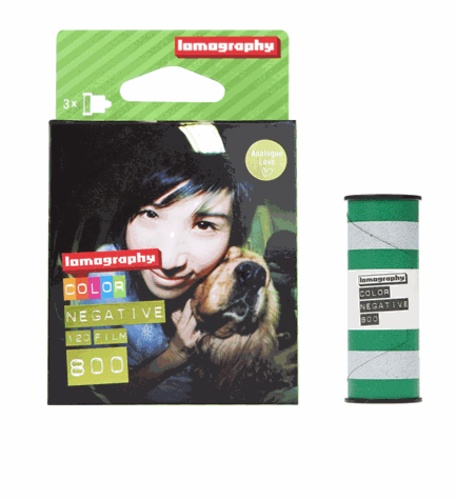 LOMOGRAPHY - Film 120mm Couleur 800 ASA pack ( 3 pcs) Lomography