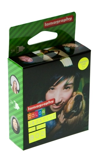 Film 120mm Couleur 800 ASA pack ( 3 pcs) Lomography