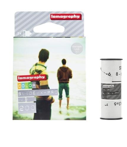 Film 120mm Slide 200 ASA pack ( 3 pcs) Lomography