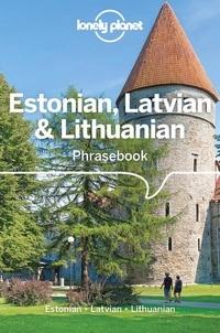 Lonely Planet - Estonian, Latvian & Lithuanian Phrasebook & Dictionary.