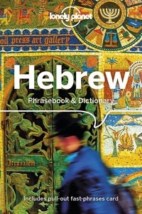 Lonely Planet - Hebrew phrasebook & dictionary.