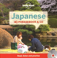 Japanese Phrasebook & CD -  Lonely Planet |