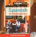 Lonely Planet - Spanish Phrasebook & CD. 1 CD audio