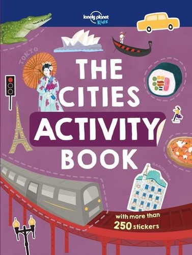 Lonely Planet - The cities activity book.