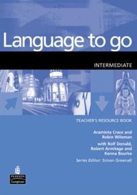 Longman group - Language to go - Intermediate Teacher's resource book.