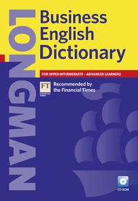Longman - Longman Business English Dictionary 2007 book and CD-ROM.