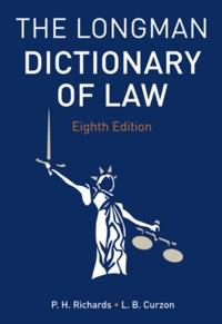 Longman - Longman Dictionary of Law.