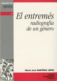 Lopez et  Martinez - El entremés - Radiografia de un género.