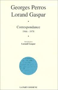 Lorand Gaspar et Georges Perros - .