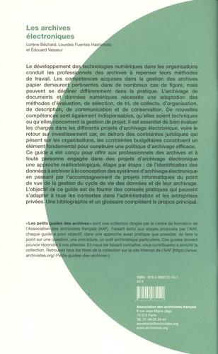 Les archives électroniques 2e édition revue et augmentée