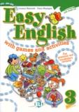 Lorenza Balzaretti et Fosca Montagna - Easy English 3 with games and activities. 1 CD audio