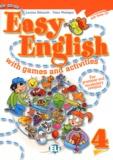 Lorenza Balzaretti et Fosca Montagna - Easy English 4 with games and activities. 1 CD audio