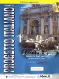 Lorenza Ruggieri et Sandro Magnelli - Nuovo progetto italiano 1 - Quaderno degli esercizi e delle attività video. Livello elementare A1-A2. 1 CD audio