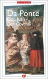 Lorenzo Da Ponte - Don Giovani.Don Juan - Trois livrets pour Mozart, Edition bilingue français-italien.