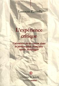 Lexpérience critique - Laventure de la raison dans la philosophie française après Heidegger.pdf