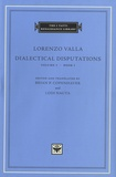 Lorenzo Valla - Dialectical Disputations - Volume I - Book I.