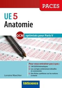 Accentsonline.fr Anatomie - Les QCM de l'UE5 comme au tutorat optimisés pour Paris V Image