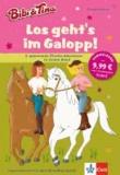Los geht's im Galopp! - 4 spannende Pferde-Abenteuer in einem Band. Leseanfänger ab 6 Jahren.