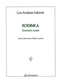 Lou Andreas-Salomé - Rodinka - Souvenirs russes.