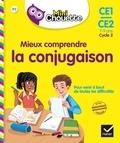 Lou Lecacheur et Catherine Stoltz - Mini Chouette - Mieux comprendre la Conjugaison CE1/CE2 7-9 ans.