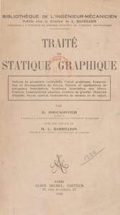 Louis Barbillion et D. Smoukovitch - Traité de statique graphique.