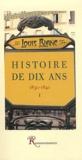 Louis Blanc - Histoire de dix ans (1830-1840) - Tome 1.