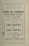 Louis Bonnard et André Claverie - Guides du canoëiste sur les rivières de France (45) - Les gaves et les nives.