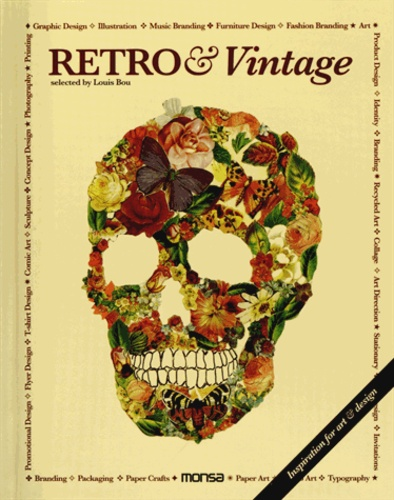 Louis Bou - Retro & Vintage - Inspiration for art & design, édition bilingue anglais-espagnol.