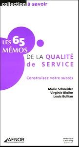 Histoiresdenlire.be Les 65 Mémos de la qualité de service - Construisez votre succès Image