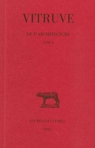 Louis Callebat - De l'architecture tome 10.