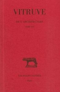 Louis Callebat - De l'architecture tome 8.