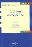 Louis Cartou et Jean-Louis Clergerie - L'Union européenne.