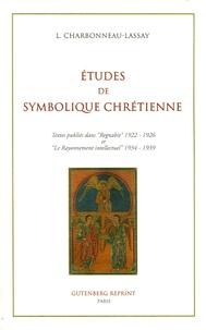 Louis Charbonneau-Lassay - Etudes de symbolique chrétienne - Iconographie et Symbolique du Coeur de Jésus.