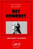 Louis-Claude de Saint-Martin - Des nombres - édition intégrale.
