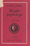 Louis Corman et A. Protopazzi - Quinze leçons de morpho-psychologie.