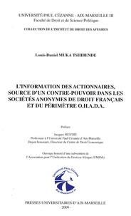 Blackclover.fr L'information des actionnaires, source d'un contre-pouvoir dans les sociétés anonymes de droit français et du périmètre OHADA Image