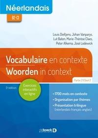 Louis Dieltjens et Johan Vanparys - Néerlandais B2-C1 - Vocabulaire en contexte partie 2 / Woorden in Context Deel 2.