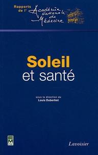 Louis Dubertret - Soleil et santé.