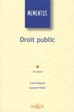 Louis Dubouis et Gustave Peiser - Droit public.
